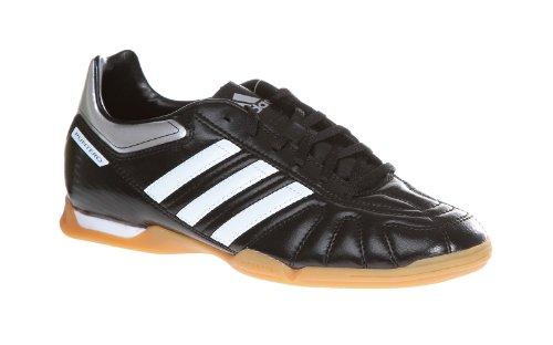 Adidas Puntero VII IN Indoor Herren Fußball Schuhe Hallenschuhe Halle Hallenböden Fussball Fußballschuhe Fussballschuhe Soccer football Männer BLACK/WHIT/SILV