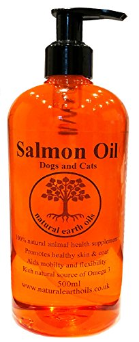 Salmon Oil - 100% Crystal Clear & Pure for Dogs and Cats-500ml 1