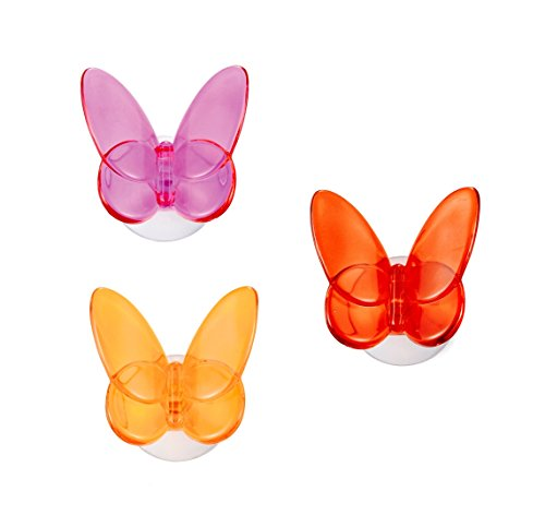 outlook-italia-vhb0200200-butterfly-design-set-of-3-hooks-with-suction-cup