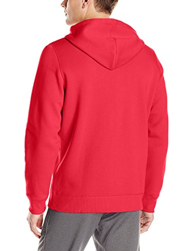Under Armour Herren Rival Fitted Full Zip Oberteil, Schwarz Red