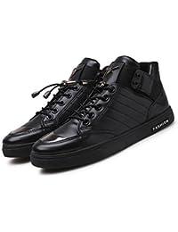 XUEQIN Männer Frauen Slip-On Canvas Schuhe Flache Non Slip Trainer Low-Top-Segeltuchschuhe (Farbe : 1, größe : EU43/UK9/CN44)