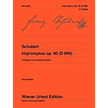 Impromptus Op. 90 (D899): For Piano