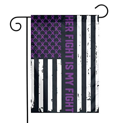 1fa533a1cb2c kjhglp American Flag Epilepsy Awareness Garden Flag House Banner for Party  Yard Home Outdoor Decor