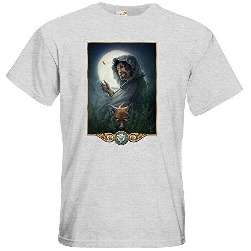 getshirts - Das Schwarze Auge - T-Shirt - Götter - Phex Ash