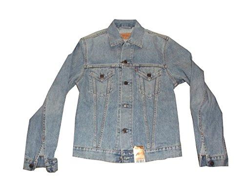 Giubbotto In Jeans Levi's Da Uomo red tab slim fit trucker Taglia M articolo 70500.04.76