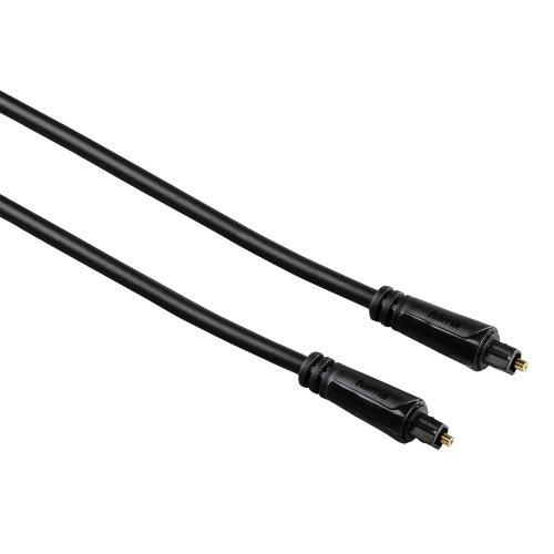 Hama 3 m, vergoldet, Audio Lichtleiter Kabel mit ODT Stecker