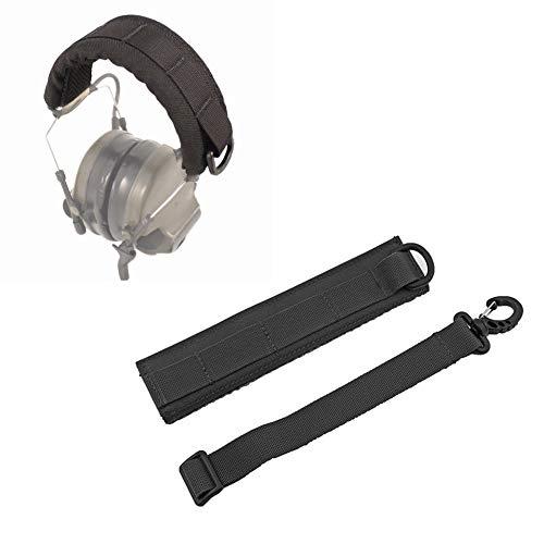 LIUYUNE,Outdoor Army Fan taktische Universal Molle-Typ Kopfhörerabdeckung(color:Schwarz,size:One Size) -