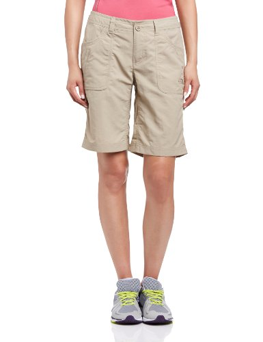 The North Face Damen Shorts Horizon Sunnyside, Dune Beige, 32 (Herstellergröße: 2 REG) -