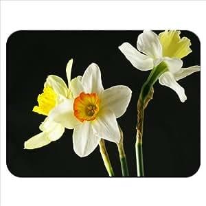 Narciso o di fiori di Narciso in gomma spessa di qualità tappetino per mouse morbido e confortevole