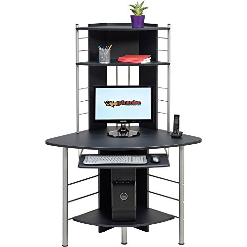 Genuine Piranha Oscar Compact Corner Computer Desk Furniture for the Home Office PC8g