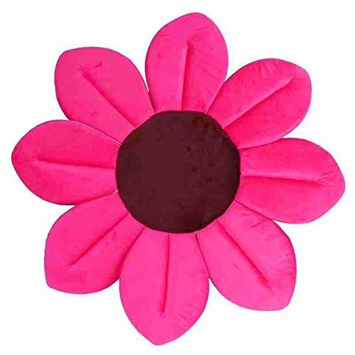 Tonsee Baby Badewannen,Blooming Blume Gefaltet Badewanne Waschbecken Wanne Für Kleinkinder Lotus (Hot Pink)