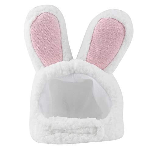TOPINCN Professionelle Kaninchen Ohr Hut Katze Perücke Cute Pet Kostüm Cosplay Kleid Cap Kostüm Bunny für Katzen & kleine Hunde Party Kostüm Zubehör