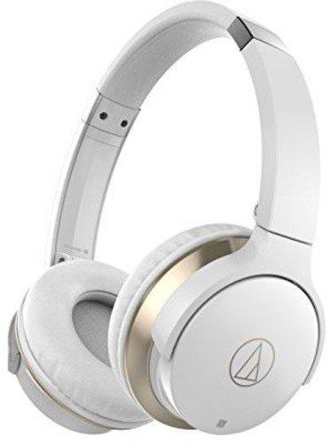 Audio-Technica ATH-AR3BTWH - Auriculares inalámbricos, color blanco