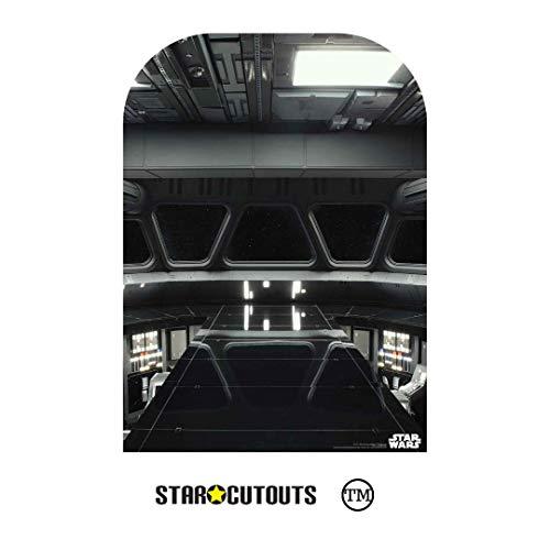 StarCutouts Ltd SC1471 - Fondo para Disfraz Infantil (130 x 94 cm), diseño de Puente de Destructor, Multicolor