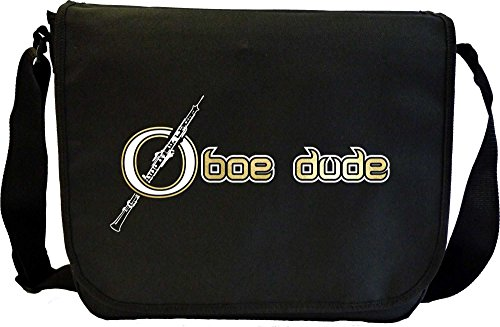 Oboe Dude 2 - Sheet Music Document Bag Musik Notentasche MusicaliTee