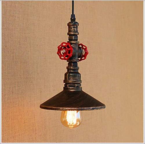 Xiao Fan ▶ * Pendelleuchte Downlight Antik Messing Metall Mini Style, Designer 110-120V / 220-240V Glühbirne enthalten / E26 / E27,110~120V ◀ - Messing-antik-fan