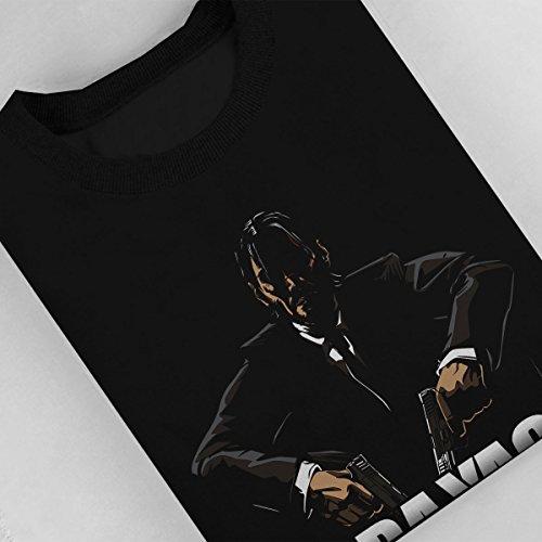 Baba Yaga John Wick Women's Sweatshirt Black