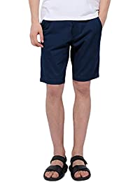 Pau1Hami1ton Chino Pantalón Corto Bermuda Pantalones De Tela para Hombre Slim-Fit PH-01