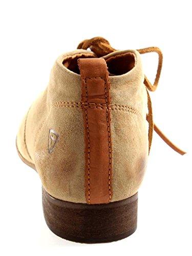Tamaris Stivali con lacci 1-25183 stivale scarpe alla caviglia scarpe di cuoio donna Marrone chiaro