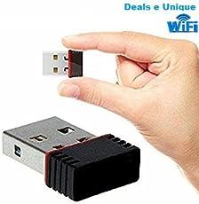 Deals e Unique Wi-Fi Receiver 300Mbps, 2.4GHz, 802.11b/g/n USB 2.0 Wireless Mini Wi-Fi Network Adapter