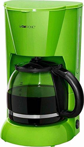 Grüne Kaffeemaschine Glaskanne 1,5 Liter Wasserstandsanzeige Kaffeeautomat 12 Tassen...