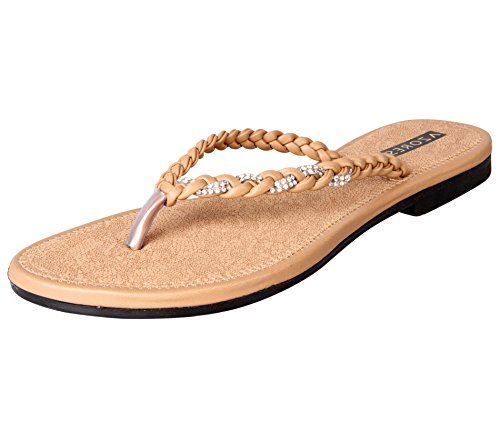 Azores Women's Casual PM Flats - Brown