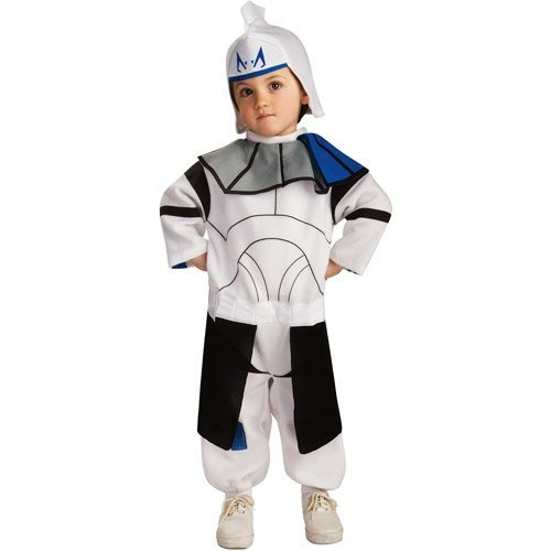 Star Wars Captain Rex Clone Trooper Costume 2T -