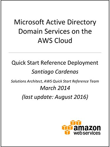 Active Directory DS on AWS (AWS Quick Start) (English Edition) por AWS Whitepapers