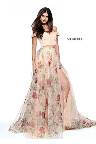 sherri-hill-nude-print-51214-two-piece-taffeta-floral-gown-uk-4-us-0