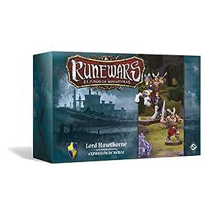 Fantasy Flight Games- Runewars - Lord Hawthorne - español, Color (FFRWM06)