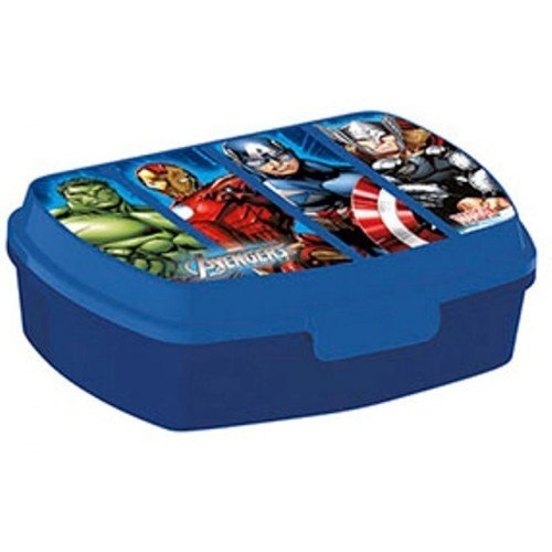 Stor st96069 - scatola box portamerenda avengers