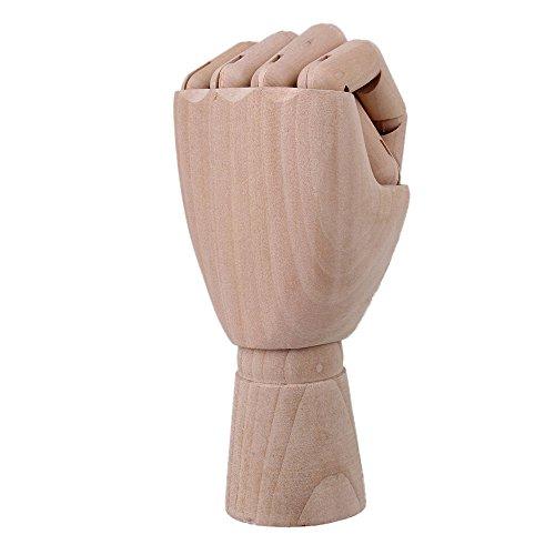 """BQLZR Kunst Mannequin Hand Realistische Holz Linke Hand Menschliche Hand Figur K?rper K¨¹nstler Modell 10 """""""