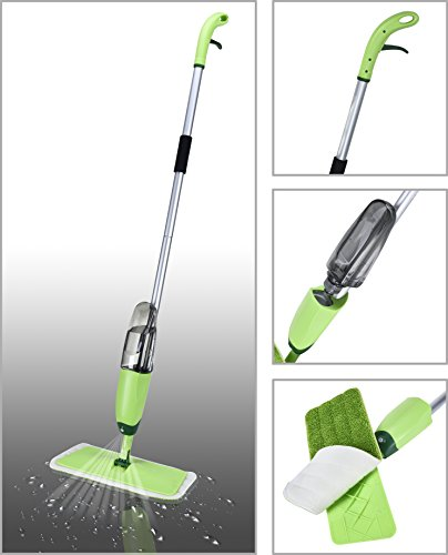 Smile Mom Quick & Easy Aluminium Spray Mop with Best...