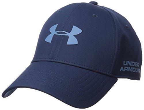 Under Armour  - Men's Golf Headline 2.0 Cap - Casquette de golf - Homme - Bleu (Academy) - Taille:...