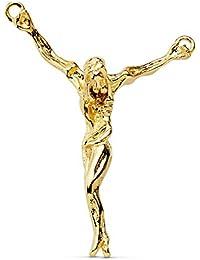 Colgante Cristo de Dalí Oro amarillo 18 kilates 38 mm