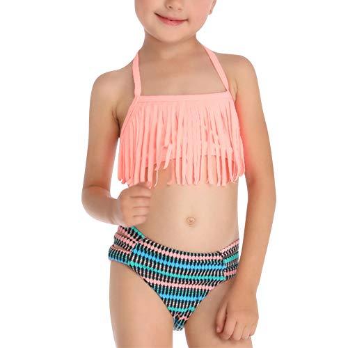 Uirend Mujer Niña Ropa Baño Bikinis Conjuntos