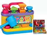 Pop Up Friends with Hammer and Shape Sorter