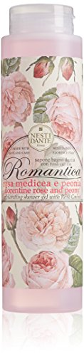Nesti Dante Shower Gel Romatica Rose und Peony, 1er Pack (1 x 0.3 l)
