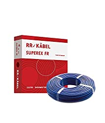 Rr Kabel Superex Fr Pvc Insulated 90 m Single Core Wire 4.00 Sq.mm