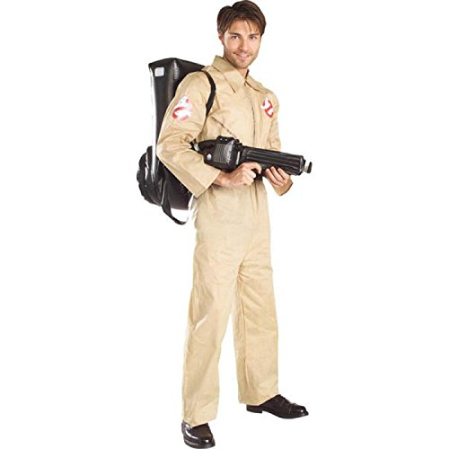 Official Ghostbusters 80s Movie Costume for Men with Proton Back Pack