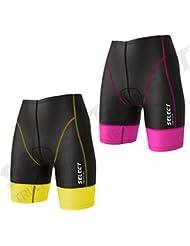 Select Femme Triathlon Power Short Tri Short de cyclisme Tri Run Bain pour homme