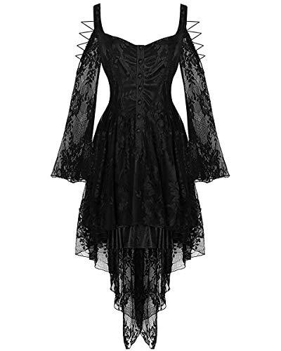 Dark In Love - Robe - Non Disponible - Manches Longues - Femme Noir Noir