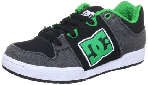 DC, Baskets Pour Garçon Noir/Vert