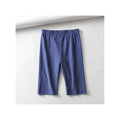 Simenual High Waist Women Biker Shorts Solid Fitness Athleisure Short Pants 2019 Casual Slim Cycling Shorts Summer Spring Sale Blue L