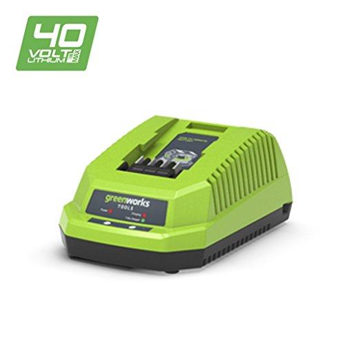 Greenworks Tools 682910907 Cargador Universal, 40 V, Verde