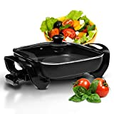 Best Electric Fry Pans - Geepas 1500W Multifunctional Electric Skillet – Ideal Review