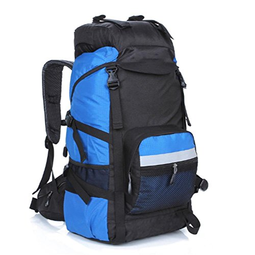 Outdoor zaino alpinismo, escursionismo borse, zaini da campeggio grande capacità, sia uomini che donne, 45 l, nylon, impermeabile e traspirante , c j