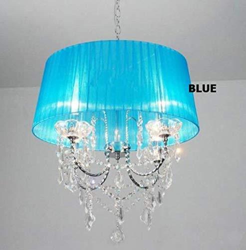 Pendelleuchten Kronleuchter Deckenlampe Pendellampe Beleuchtung Lampe Pendelleuchten Led Kristall Schlafzimmer Noble Luxus Lampe Schornstein E14 Lampe Glas Basis Led Lampe Mode Lampenschirm, B - Basis-schornstein
