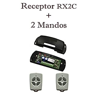 Pack Receiver APRIMATIC RX2°C Exterior 12/12V + Two Remotes