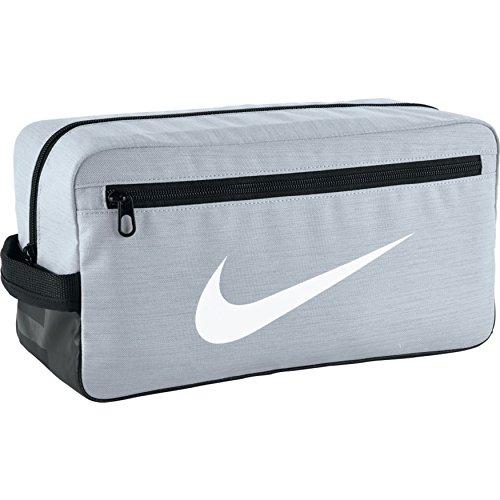 Nike BA5339-043Sac à chaussures argenté, pour hommes, taille unique, (argenté/noir/blanc)